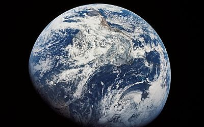 Earth (Public domain, US government, Wikipedia)
