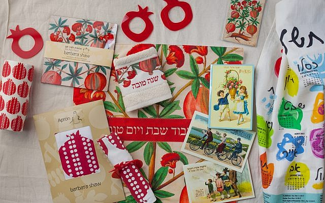Jerusalemite Barbara Shaw designs gifts sold in her German Colony store, and recently published a guide book introducing her favorite places in the city (Courtesy Barbara Shaw Gifts)