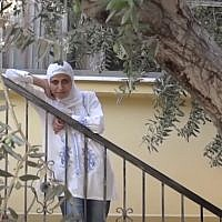 Palestinian poet Dareen Tatour (Screen capture: YouTube)