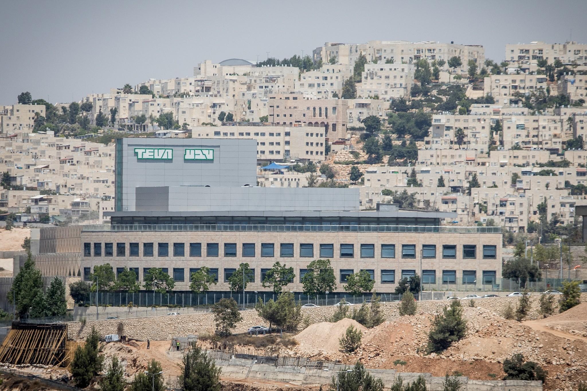 c425c0e6975d02 The Israeli drug company TEVA Pharmaceutical Industries in Jerusalem on  August 6