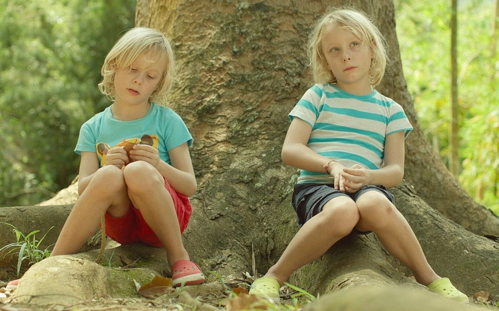 Marina Willer's sons, Alfie and Dylan in 'Red Trees' (Cohen Media Group)