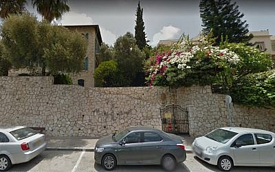 French consulate in Haifa. (Screen capture: Google maps)