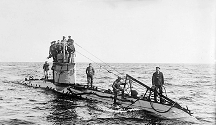 An analysis of the first world war and submarine warfare