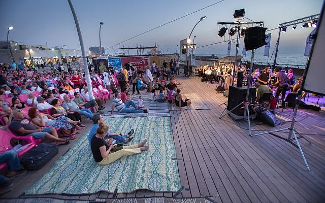 The Andalusian Orchestra Ashdod hosts a free outdoor concert at the Tel Aviv port in the days in between Rosh Hashanah and Yom Kippur (Courtesy Andalusian Orchestra)