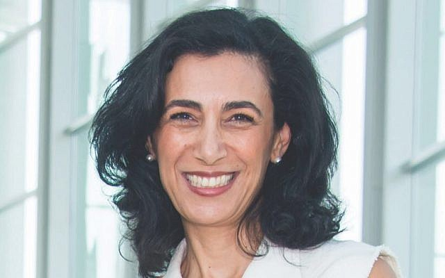 Sharon Nazarian will be the Anti-Defamation League's next senior vice president of international affairs, heading the group's work combatting anti-Semitism. (Courtesy of the ADL)