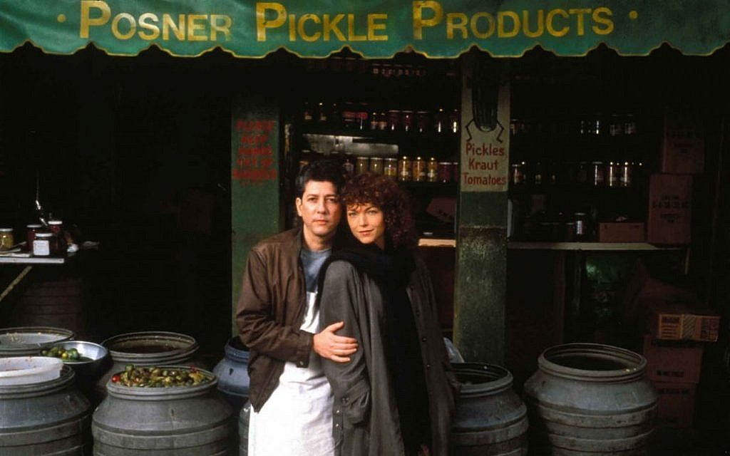 Peter Reigert and Amy Irving in 'Crossing Delancey.' (Courtesy)