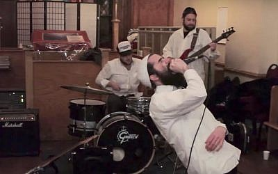 Moshiach Oi, a Jewish punk band. (YouTube screenshot)