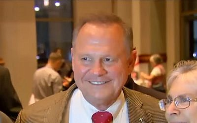 Screen capture from video of Alabama Republican nominee for the US Senate, Roy Moore. (YouTube/Fox News)
