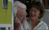 Donald Sutherland and Helen Mirren in 'The Leisure Seeker.' (Courtesy)