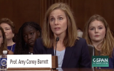 Amy Coney Barrett (C-Span screenshot)