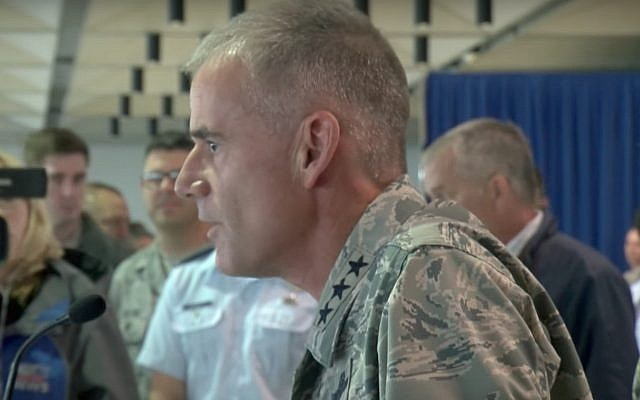 Head of the United States Air Force Academy Lieutenant General Jay Silveria (Screen capture: YouTube)