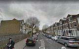 Illustrative image of Dunsmure Rd, Stamford Hill, London. (Screen capture: Google streetview)