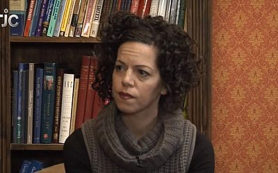 Stosh Cotler, CEO of Bend The Arc speaks on TJC's 'The Salon' in 2014. (Screen capture: YouTube)