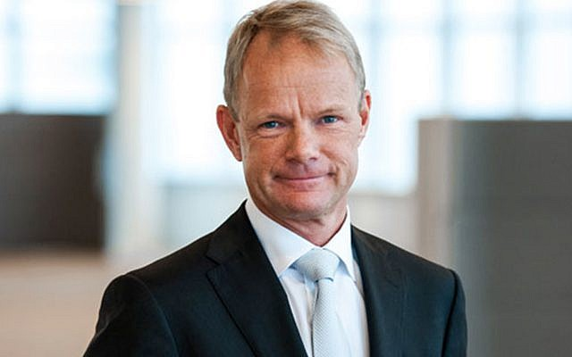 Kåre Schultz, the newly appointed CEO and president of Teva. (Courtesy)