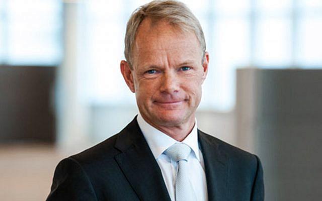 Kåre Schultz, CEO and president of Teva. (Courtesy)