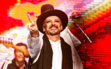 Eighties wonder Boy George reunites with Culture Club for a world tour that will stop in Tel Aviv on November 7, 2017 (Courtesy Culture Club website)