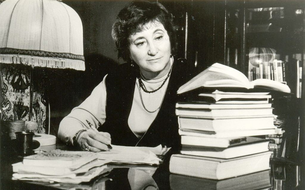 Elena Rzhevskaya, the military translator who carried Hitler's teeth. (Courtesy  Liubov Summ)