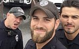 Michael Hamill and two other Florida police officers. (Gainesville Police Department /Facebook)