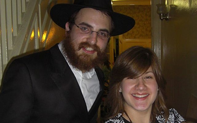 An undated photo of Rabbi Moishe Chanowitz and his wife, Chana, the Chabad emissaries serving on the Caribbean island of St. Martin. (Chabad.org)