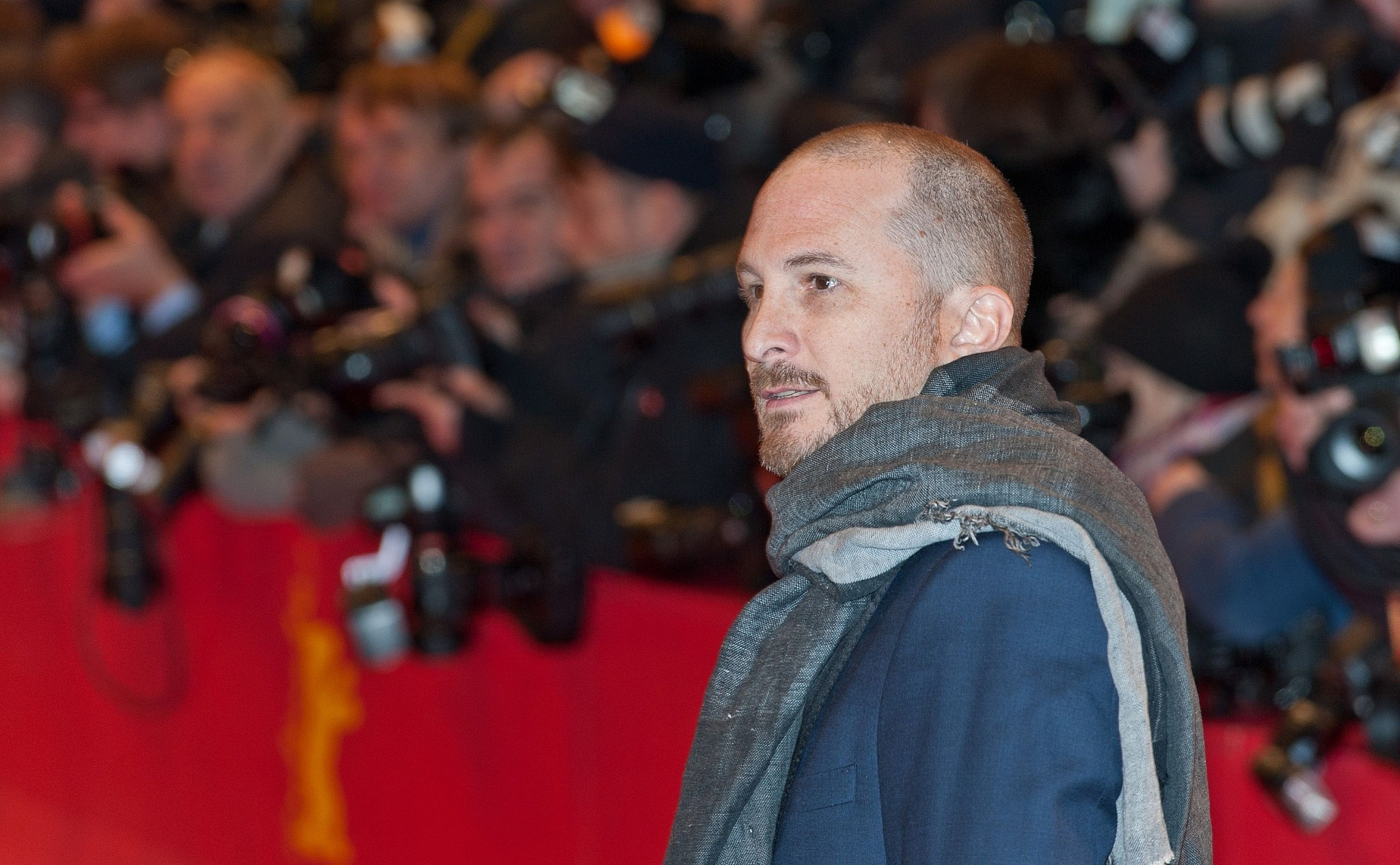 Director Darren Aronofsky at the opening of the Berlin Film Festival in 2015