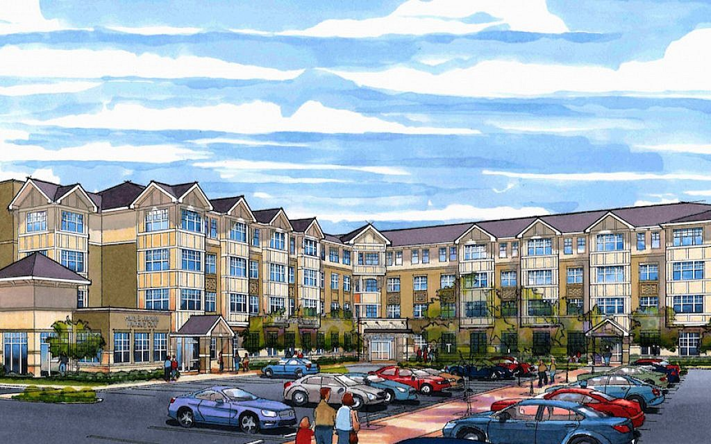 Covenant Place, a Jewish retirement community in St. Louis, is constructing a building that combines affordable apartments for seniors with a range of social and communal services open to the surrounding community. (Courtesy of Covenant Place/via JTA)