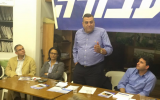 Nizar Alimi campaging for the Labor Party Primaries in December 2014 (Facebook)