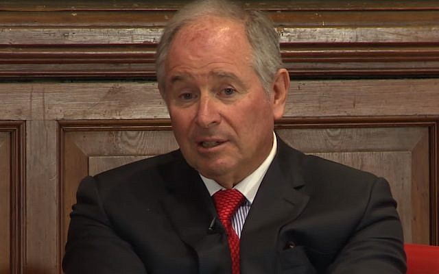 Stephen Schwarzman (Screenshot)