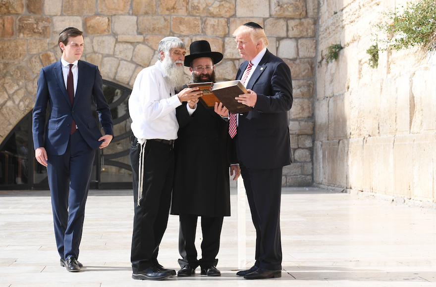 Trump to Rabbis: Hopeful for Significant Progress in Middle East Peace