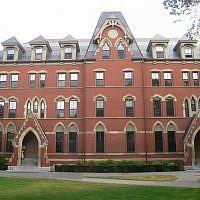 West Hall at Tufts University (Wikimedia Commons via JTA)