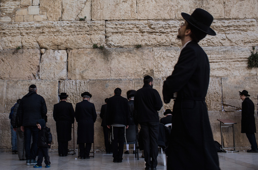 Haredi Jews In Israel: Worried About Jewish Pluralism In Israel? So Are Israelis