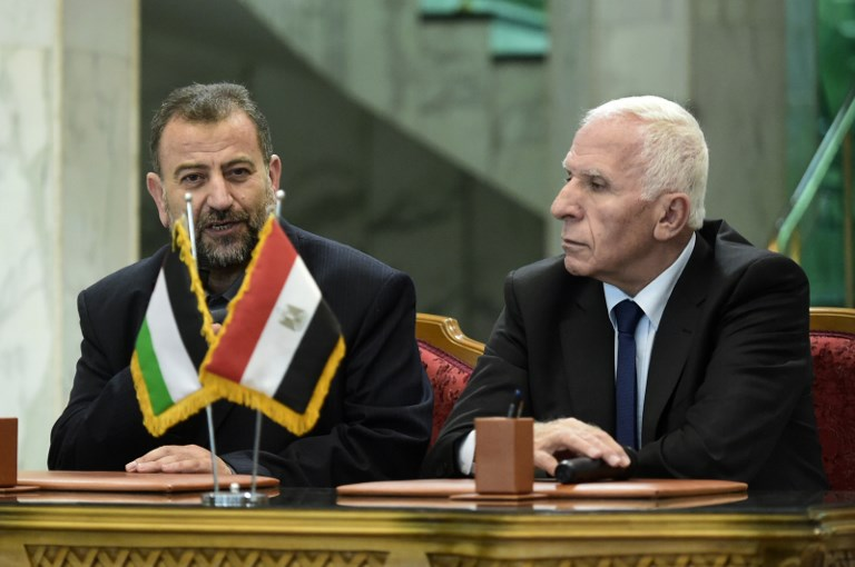 Israel says will only accept Palestinian reconciliation deal if Hamas disarms
