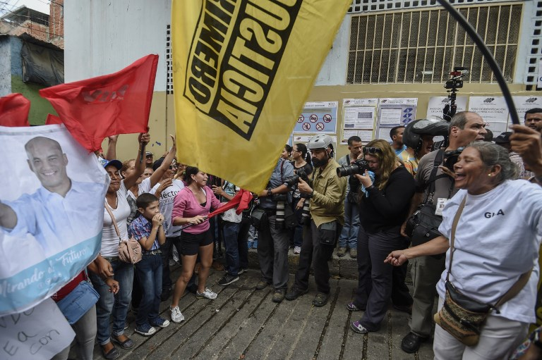 Venezuela Opposition Hoping for Big Wins in Regional Polls