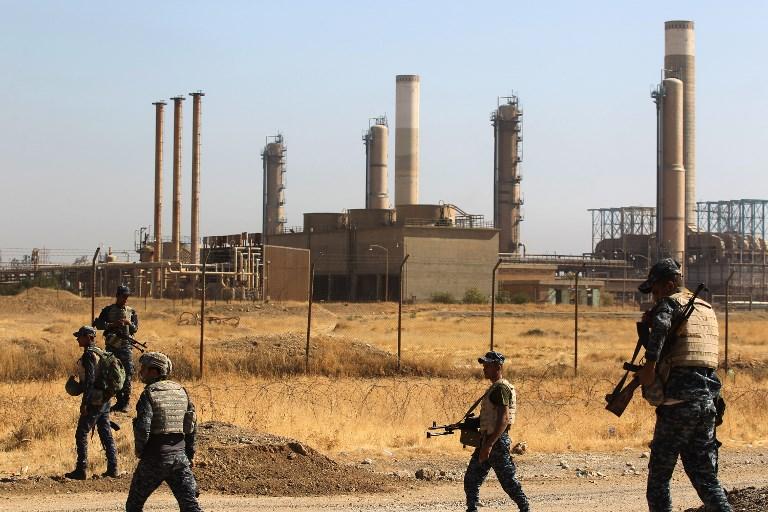 Iraq signs deal with BP to develop oil fields retaken from Kurds