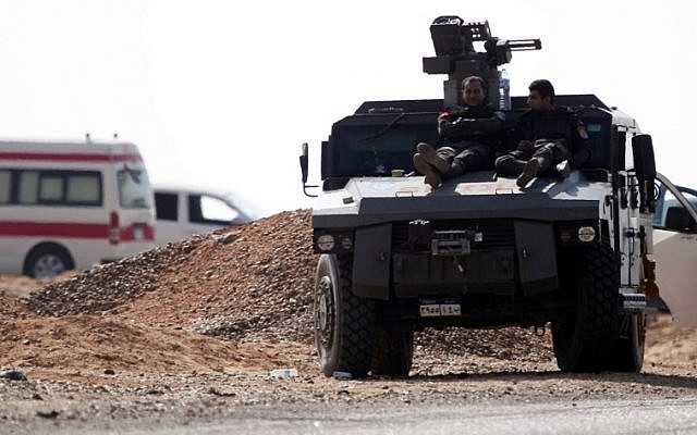 Egypt says security forces killed 17 jihadists after hospital attack