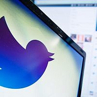 The logo of Twitter, the social n etworking website, on a computer screen in London, England, on September 11, 2013. (AFP Photo/Leon Neal/File)