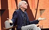 Larry David speaks onstage during Vanity Fair New Establishment Summit at Wallis Annenberg Center for the Performing Arts on October 4, 2017 in Beverly Hills, California.   (Matt Winkelmeyer/Getty Images/AFP)