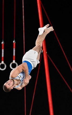 Israeli Gymnast Artem Dolgopyat Wins Silver At World