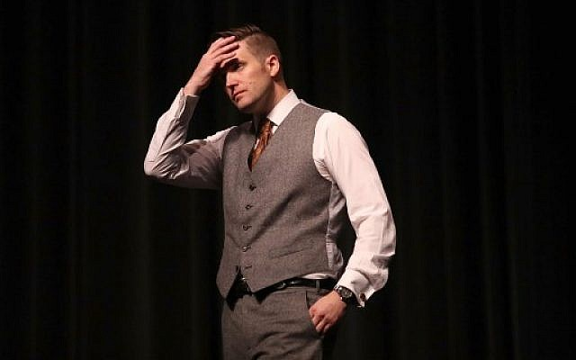 White nationalist Richard Spencer at the Curtis M. Phillips Center for the Performing Arts on October 19, 2017 in Gainesville, Florida. (Joe Raedle/Getty Images/AFP)
