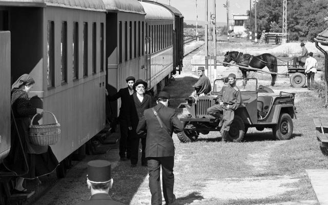 A scene from the film '1945.' (Courtesy of Menemsha Films/via JTA)
