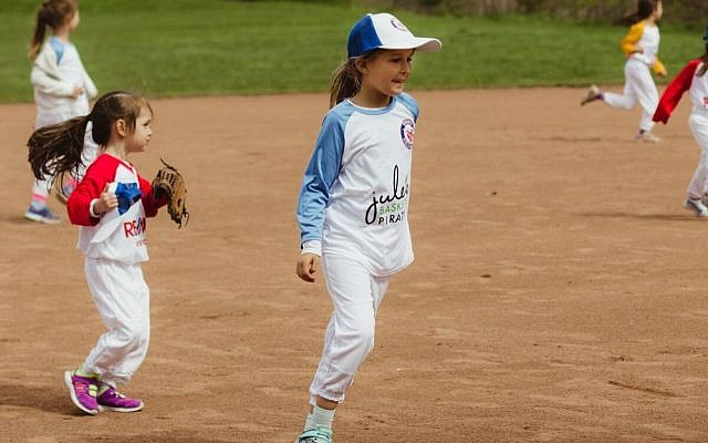 The first girls-only baseball league in Ontario has grown from 42 players in 2016 to over 350 today. (Courtesy Toronto Girls Baseball League)