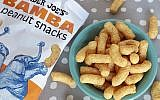 Trader Joe's is now selling the popular Israeli snack Bamba. (Trader Joe's via JTA)