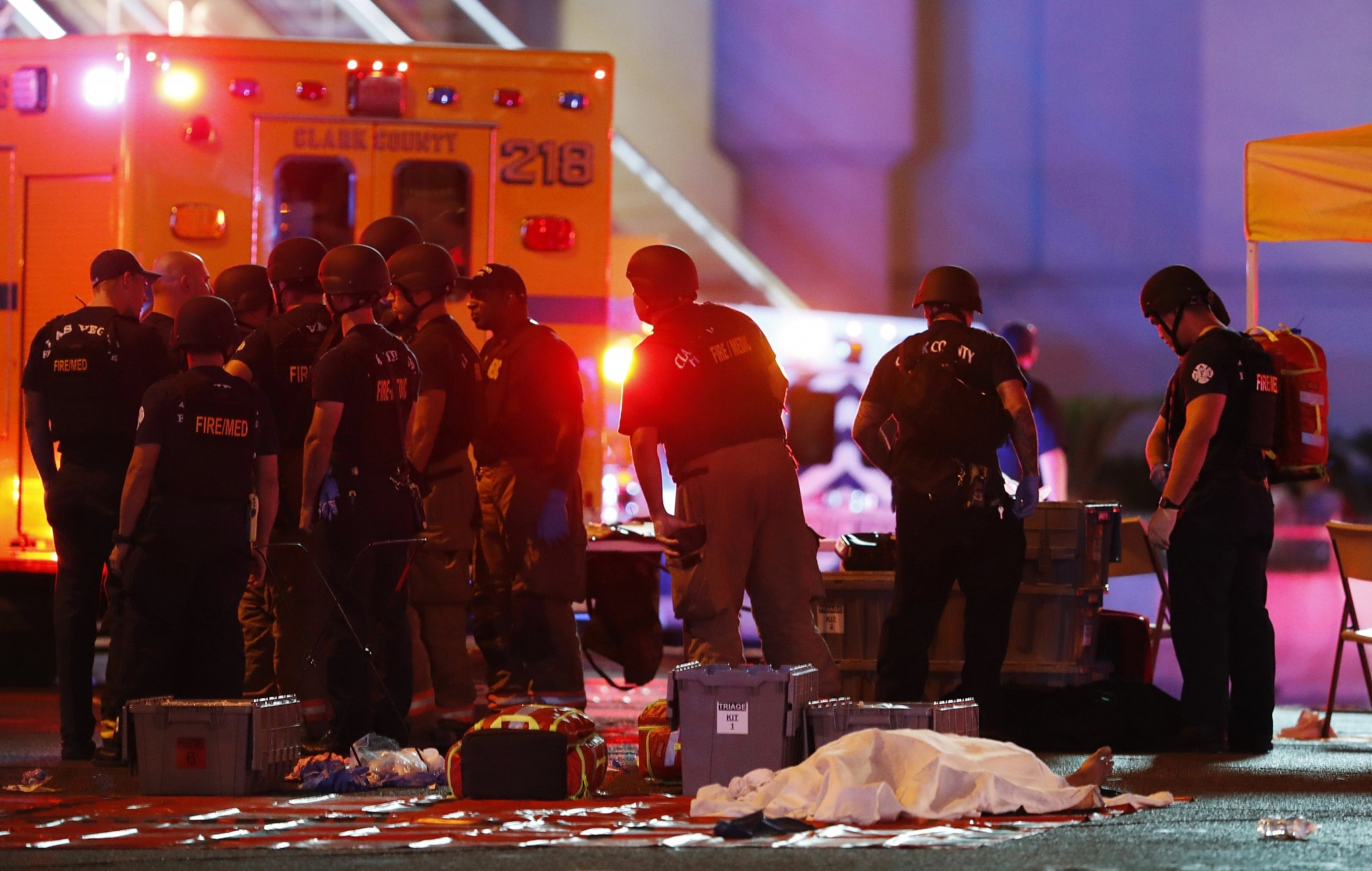 Death toll in Las Vegas rises to at least 58 after night of horror | The Times of Israel