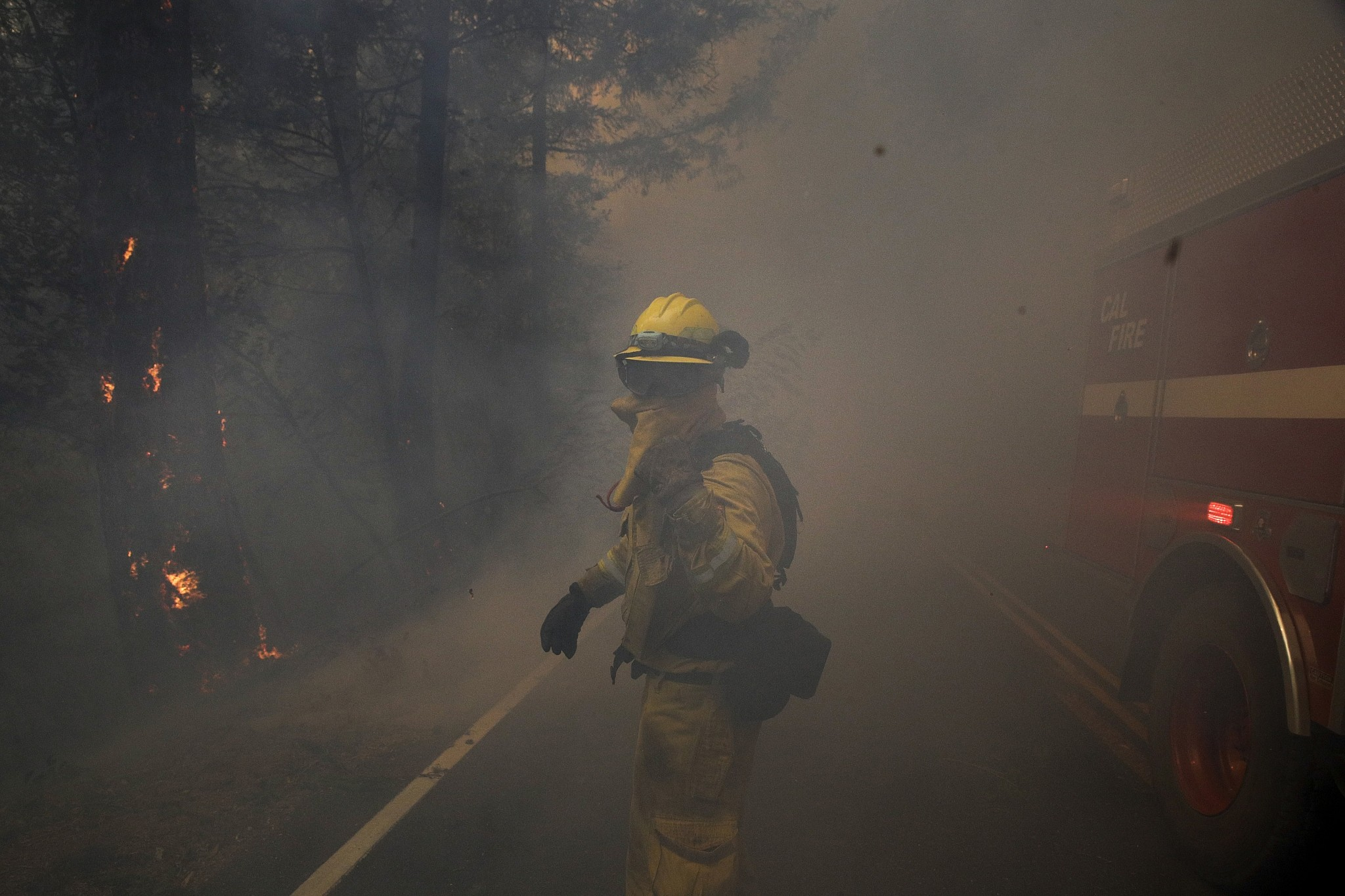 PG&E Makes Progress on Gas, Power Restores Despite Continuing Wildfires