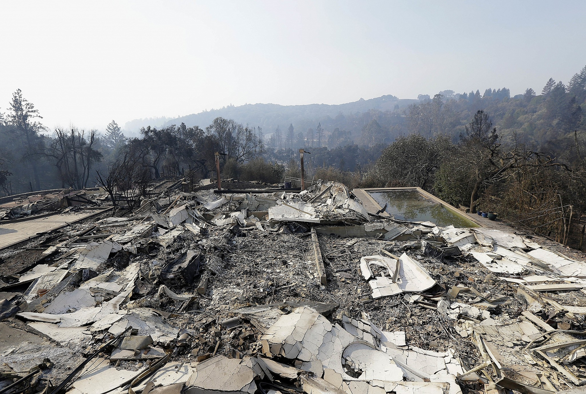 California wildfires: PG&E warns investors of possible financial hit