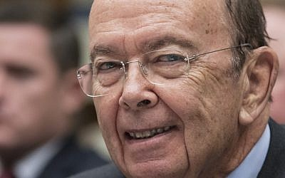 Commerce Secretary Wilbur Ross appears before the House Committee on Oversight and Government Reform on Capitol Hill in Washington, on October 12, 2017. (AP Photo/J. Scott Applewhite)