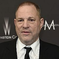 In this file photo from January 8, 2017, Harvey Weinstein arrives at The Weinstein Company and Netflix Golden Globes afterparty in Beverly Hills, California. (Photo by Chris Pizzello/Invision/AP, File)