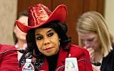 This November 18, 2015, photo shows House Education and the Workforce Committee member Rep. Frederica Wilson, a Democrat of Florida, in Washington. (AP Photo/Jacquelyn Martin)