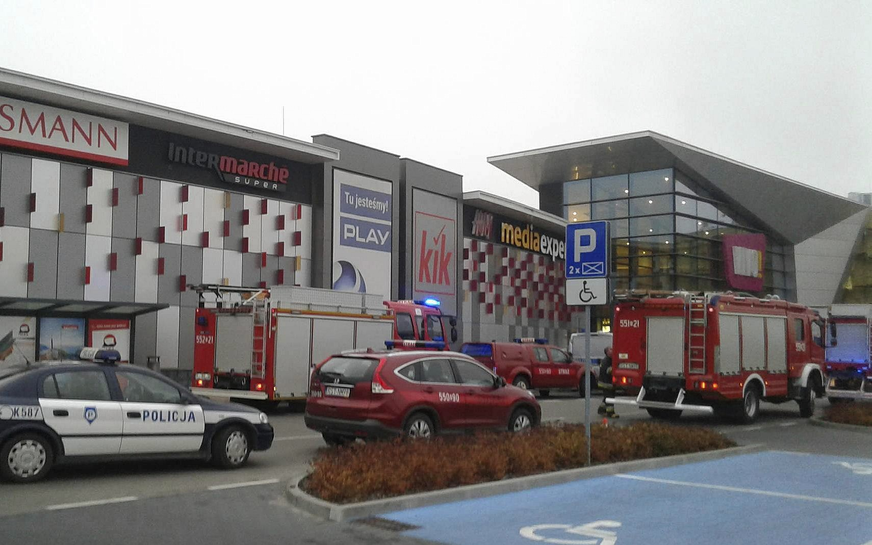 One killed, seven injured in mall attack in Poland