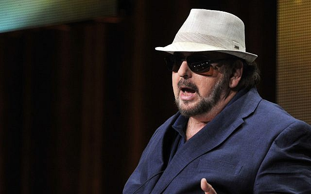 James Toback takes part in a panel discussion during HBO's Summer 2013 TCA panel at the Beverly Hilton Hotel in Beverly Hills, California, on July 25, 2013. (Chris Pizzello/Invision/AP)