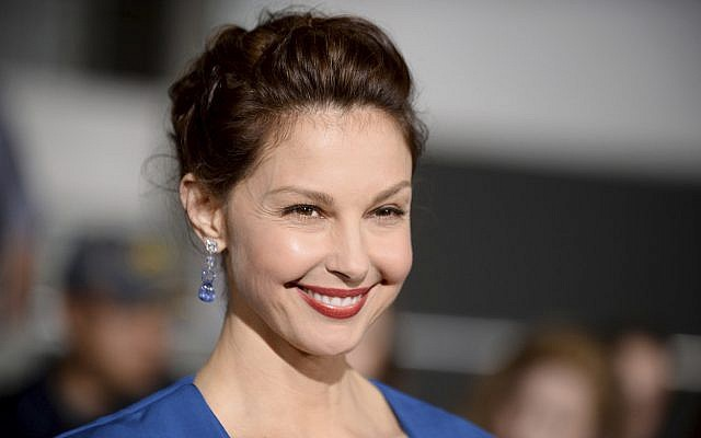 """In this photo from March 18, 2014, Ashley Judd arrives at the world premiere of """"Divergent"""" at the Westwood Regency Village Theater in Los Angeles. (Photo by Jordan Strauss/Invision/AP, File)"""